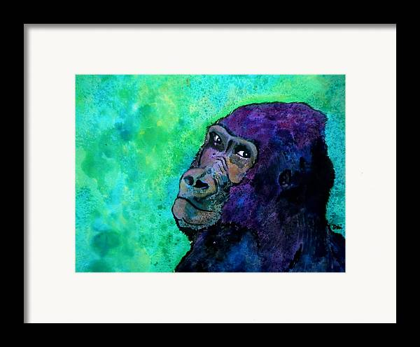 Go Sit In Time Out Framed Print featuring the painting Go Sit In Time Out by Debi Starr