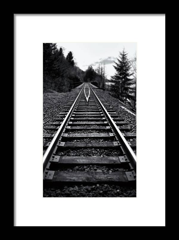 Bridge Framed Print featuring the photograph Going The Distance by Jon Ares