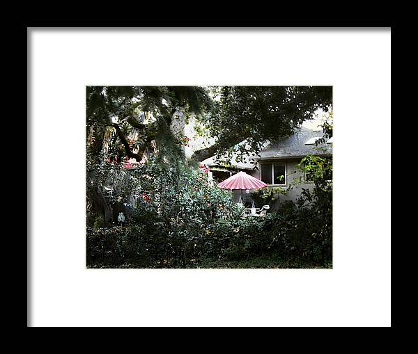 Garden Framed Print featuring the photograph Going To A Garden Party by Leslie Hunziker