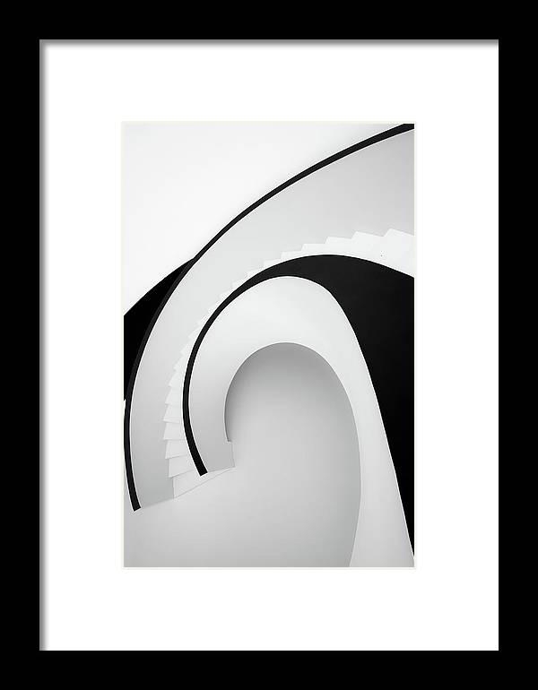Architecture Framed Print featuring the photograph Going Up?... by Jo??o Castro