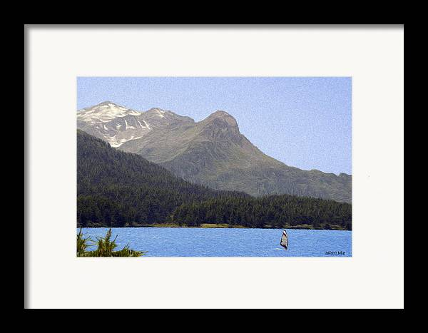 Europe Framed Print featuring the painting Going Where The Wind Blows by Jeff Kolker