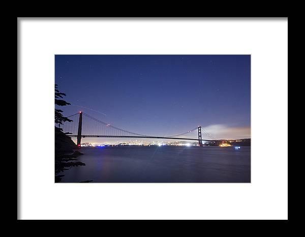 San Francisco Framed Print featuring the photograph Golden Gate Silhouette by Scott Lenhart