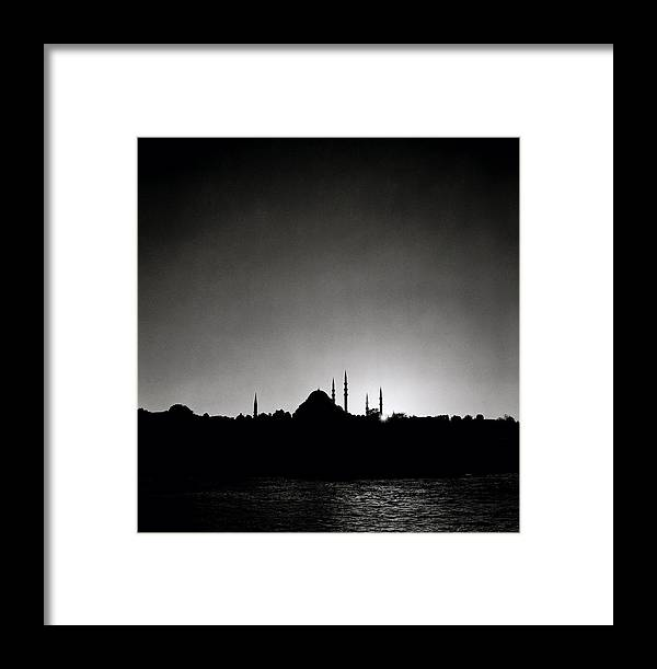 Istanbul Framed Print featuring the photograph Golden Horn by Shaun Higson