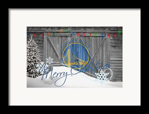 Warriors Framed Print featuring the photograph Golden State Warriors by Joe Hamilton