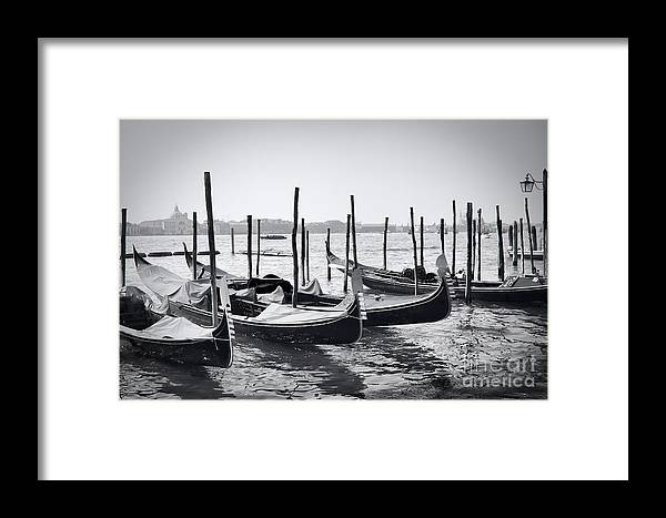 Architecture Framed Print featuring the photograph Gondola by Gabriela Insuratelu