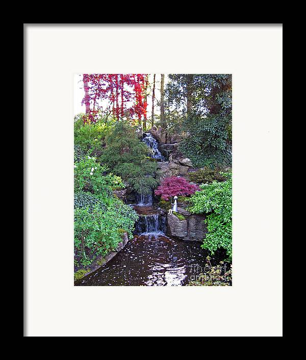 Gone Fishing Framed Print featuring the photograph Gone Fishing. Keukenhof Gardens. Holland by Ausra Huntington nee Paulauskaite