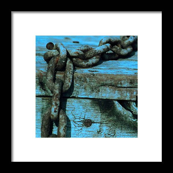 Chain Framed Print featuring the photograph Good As New by Jacob Cane
