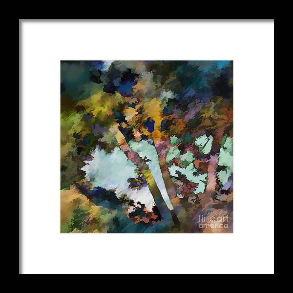 Ursula Freer Framed Print featuring the digital art Good Day by Ursula Freer
