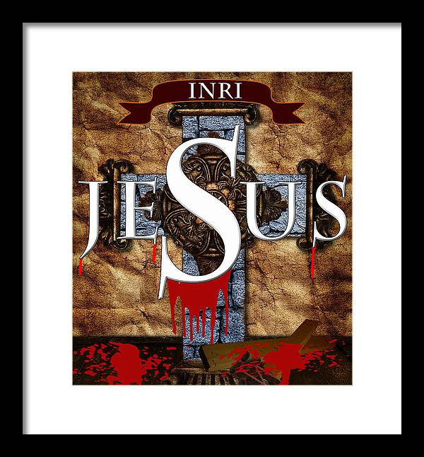 Jesus Framed Print featuring the photograph Good Friday by Cecil Fuselier
