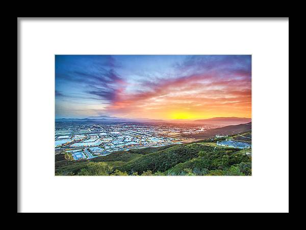 Temecula Framed Print featuring the photograph Good Morning Temecula by Robert Aycock
