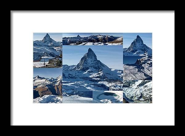 Matterhorn Photographs Framed Print featuring the photograph Gorgeous Matterhorn by Julia Fine Art And Photography
