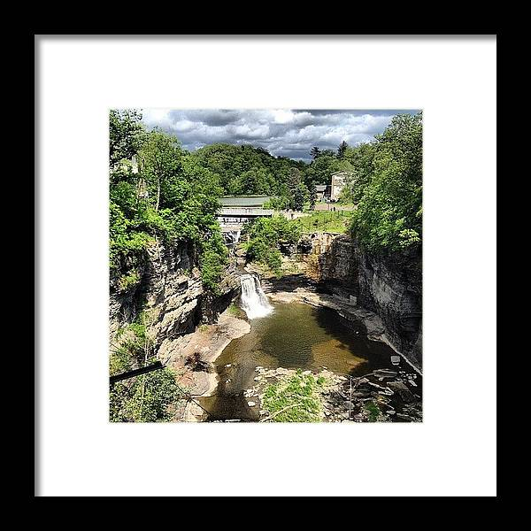 Beautiful Framed Print featuring the photograph Gorges by Mike Maher