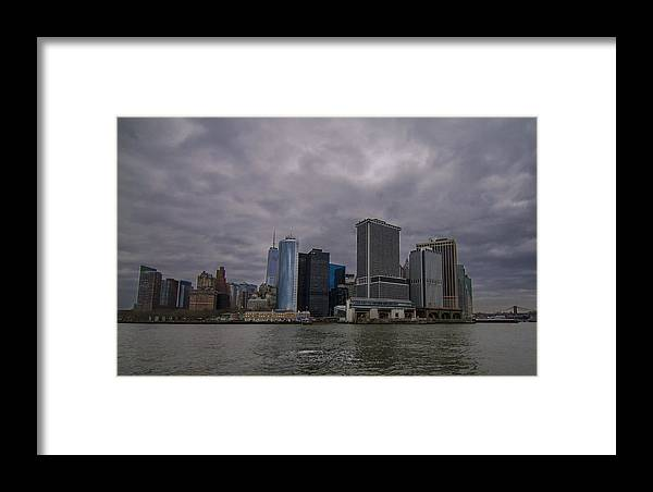 Nyc Framed Print featuring the photograph Gotham Sky by Cameron McManus
