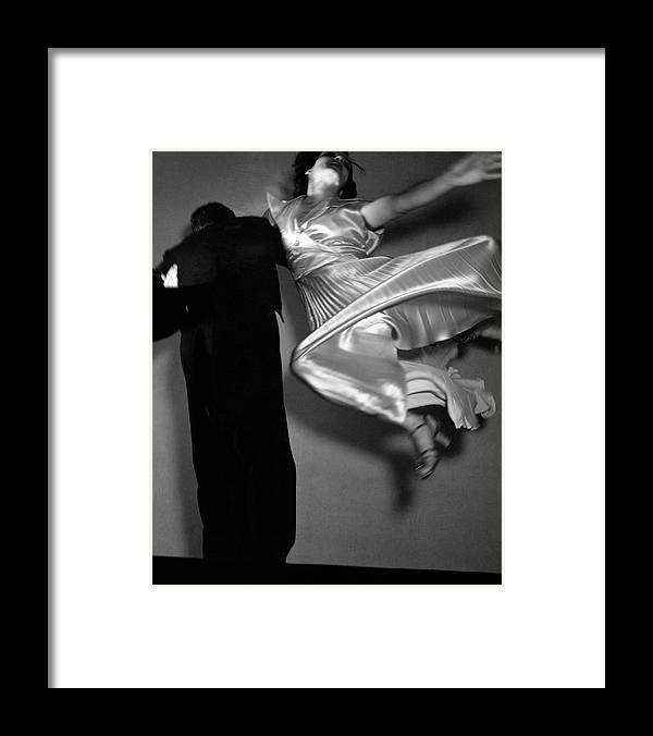 Dance Framed Print featuring the photograph Grace And Paul Hartman Dancing by Edward Steichen