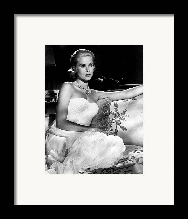 Retro Images Archive Framed Print featuring the photograph Grace Kelly Looking Gorgeous by Retro Images Archive