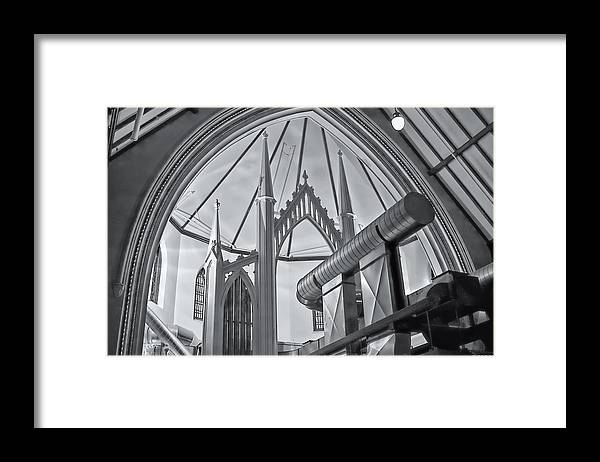 Architecture Framed Print featuring the photograph Grace by Richard Bean