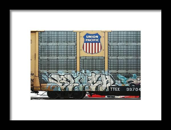 Urban Framed Print featuring the photograph Graffiti II by Jerrett Dornbusch