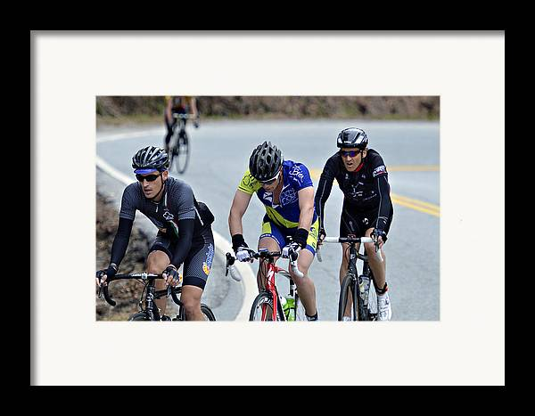 Sport Framed Print featuring the photograph Gran Fondo by Susan Leggett