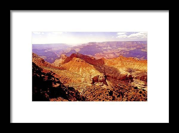 Grand Canyon Framed Print featuring the photograph Grand Canyon Arizona Usa by A Gurmankin