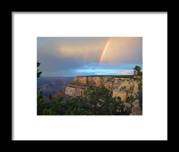 Grand Canyon Framed Print featuring the photograph Grand Canyon Following The Storm by Keith Stokes
