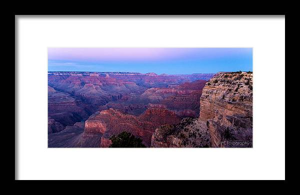 Grand Canyon Framed Print featuring the photograph Grand Canyon by Preston Fiorletta