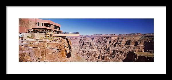 Grand Canyon Skywalk Eagle Point West Framed Print