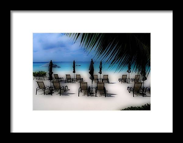 Caribbean Framed Print featuring the photograph Grand Cayman Dreamscape by Caroline Stella