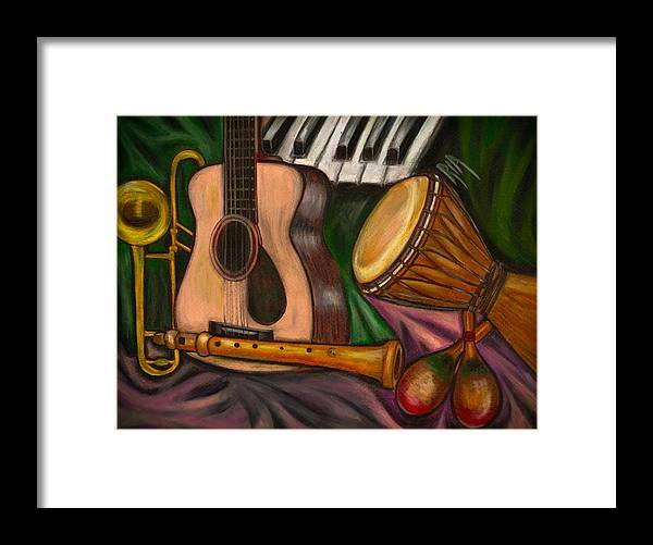 Music Framed Print featuring the photograph Grand POP by Artist RiA