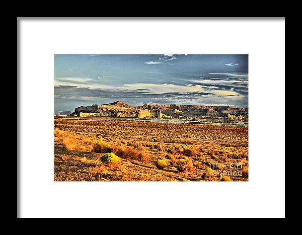 Scenic Framed Print featuring the photograph Grand Staircase-escalante by David Burks