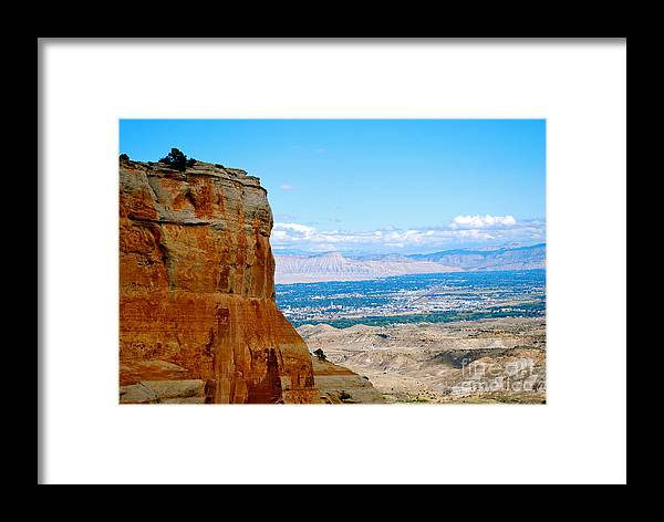 Grand Valley Framed Print featuring the photograph Grand Valley by Christine Scott
