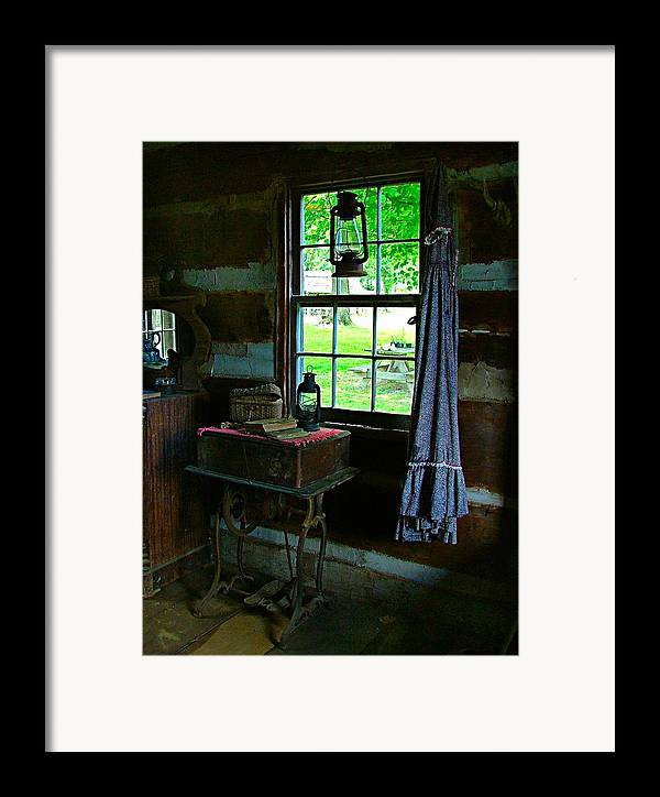 Grandmas Framed Print featuring the photograph Grandma's Things by Julie Dant