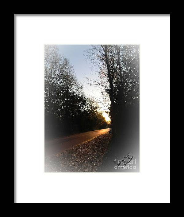 Gold Framed Print featuring the photograph Great New Day by Jeffery Fagan