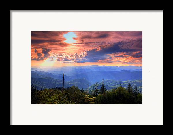 Landscape Framed Print featuring the photograph Great Smoky Mountains by Doug McPherson