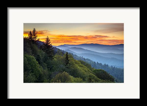 Great Smoky Mountains National Park - Morning Haze At ...