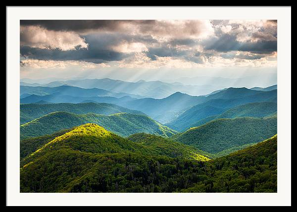 Smoky Mountains Framed Art Prints | Fine Art America
