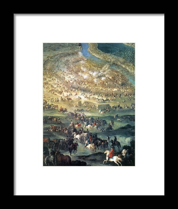 Great Turkish War, Battle Of Zenta, 1697 Framed Print by