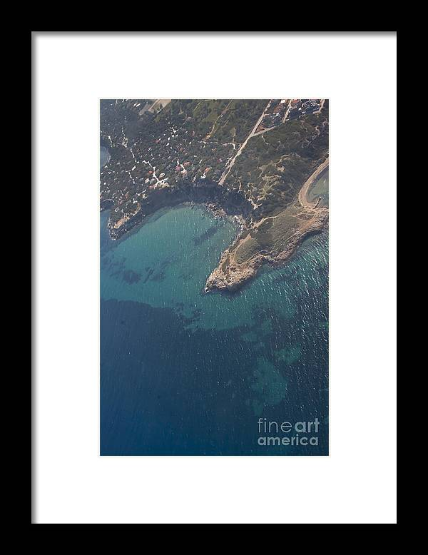 Island Framed Print featuring the photograph Greek Island In The Aegean Sea  #7444 by J L Woody Wooden