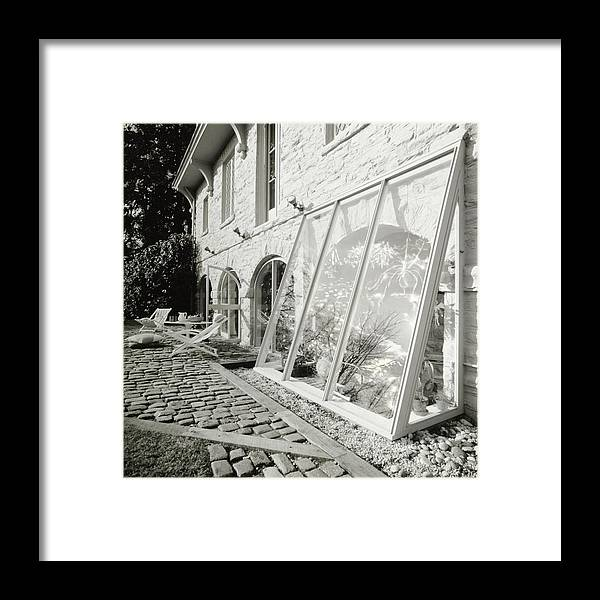 Outdoors Framed Print featuring the photograph Greenhouse by Tom Yee