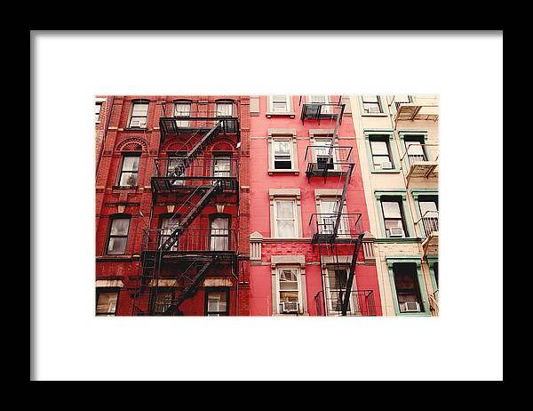 Nyc Framed Print featuring the photograph Greenwich Village by Kim Fearheiley