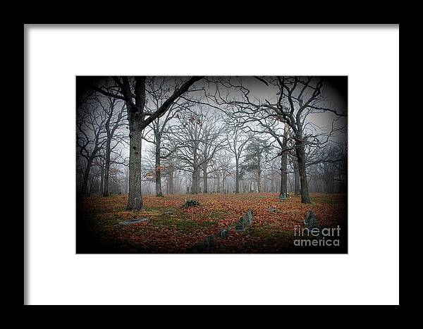 Cemetery Framed Print featuring the photograph Greenwood Cemetery 1 by Robyn Pervin