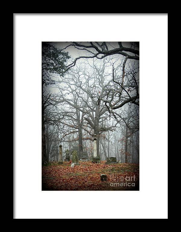 Cemetery Framed Print featuring the photograph Greenwood Cemetery 2 by Robyn Pervin