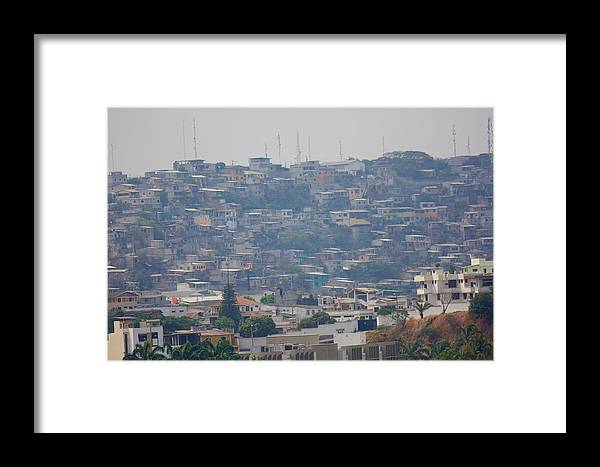 Guayaquil Framed Print featuring the photograph Guayaquil Overview by Allan Morrison