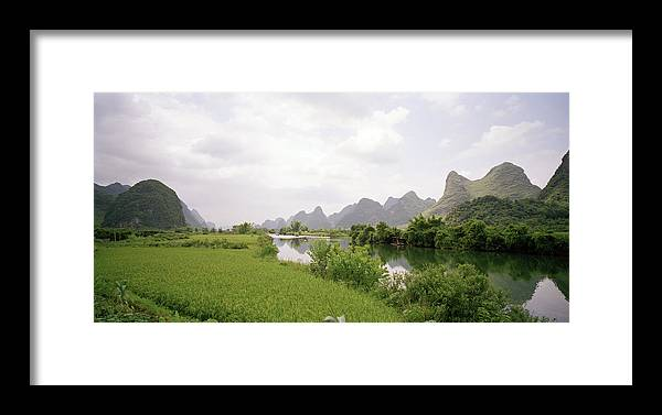 Guilin Mountains Framed Print featuring the photograph Guilin China by Shaun Higson