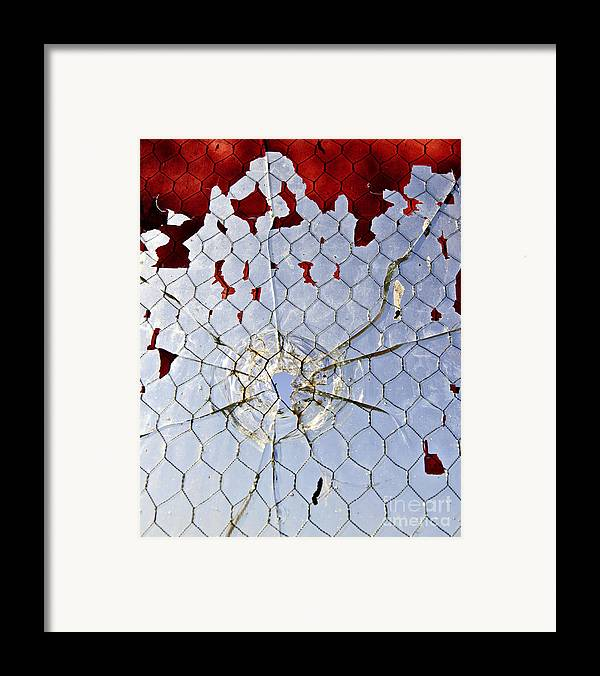 Art Framed Print featuring the photograph H O M I C I D E by Charles Dobbs