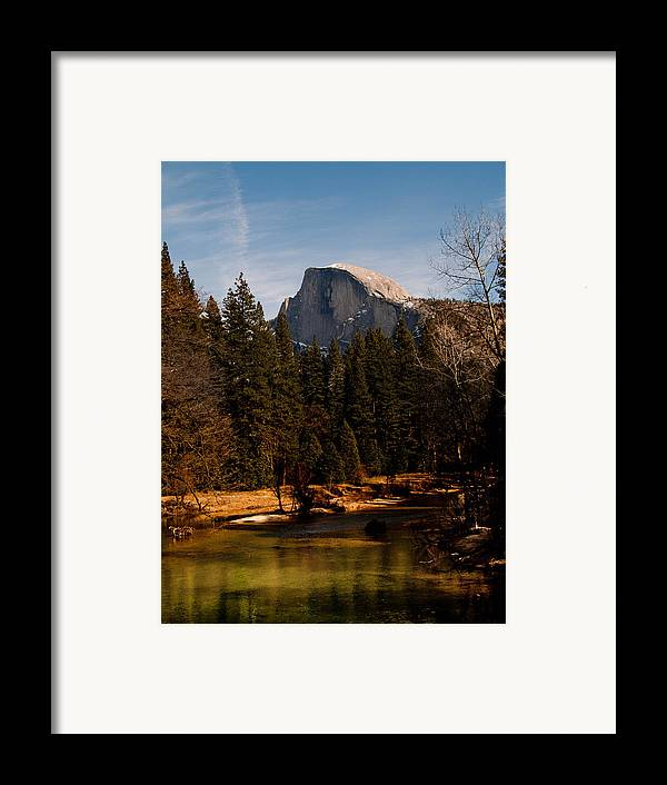 Yosemite Framed Print featuring the photograph Half Dome Spring by Bill Gallagher