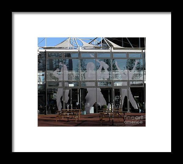 Cricket Framed Print featuring the photograph Hampshire County Cricket Glass Pavilion by Terri Waters