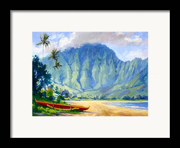 Hawaii Framed Print featuring the painting Hanalei Style by Jenifer Prince