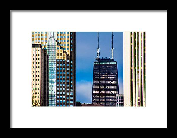 Chicago Framed Print featuring the photograph Hancock Building In Chicago by John McGraw