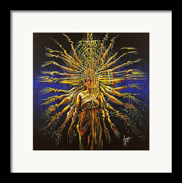 Dance Framed Print featuring the painting Hands Of Compassion by Karina Llergo