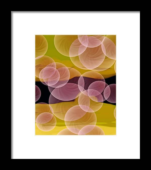 Happiness Framed Print featuring the digital art Happiness by Lillian Hibiscus